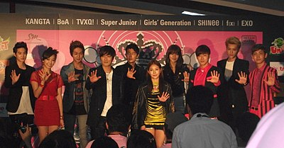 Picture of a band or musician: Smtown