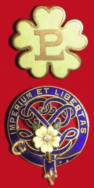 Primrose League - Primrose League badges
