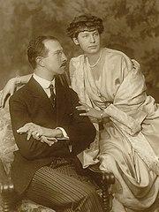 Prince Adalbert of Bavaria with Countess Augusta von Seefried auf Buttenheim.jpg