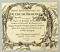 Print, Partie Septentrionale du Duche de Brabant, 1752 (CH 18310603).jpg