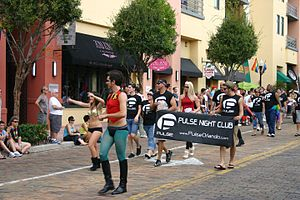 Pulse nightclub - Image: Procession of Pulse nightclub at Come Out With Pride Parade 2009 (4010590470)