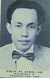 Prof. M. Asril, Mayor of Bukittinggi, 1966—1968.jpg