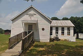 National Register of Historic Places listings in Dickson County, Tennessee - Image: Promise Land Schoolhouse