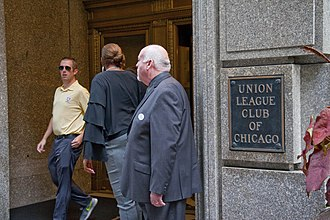 Union League Club of Chicago - Union League Club of Chicago plaque