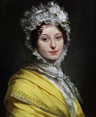 Louise Antoinette Lannes, Duchess of Montebello - Prud'hon - Louise Antoinette Scholastique Guéheneuc (1782-1856)