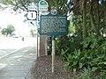 Public Burying Ground historical marker, St. Augustine.JPG