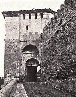 Puerta de santiago segovia wikipedia la enciclopedia - Puerta de segovia ...