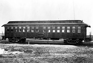 Pullman (car or coach) - Exterior view of a Pullman car