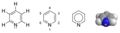Pyridine chemical structure.png