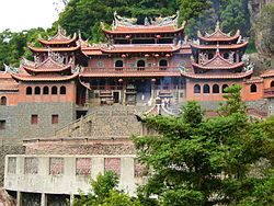 Qing Shui Yan Temple in 2006