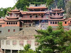 Anxi County - Qing Shui Yan Temple in 2006