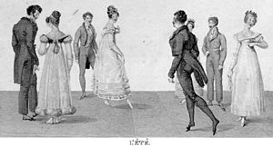 Stately quadrille - The quadrille was a popular dance of the 18th century. Because of its similarity to the way in which Great Powers swapped partners, the term was swiftly applied to describe it.