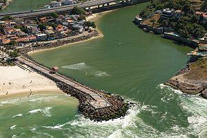 Breakwater (structure) - Barra da Tijuca - Rio de Janeiro