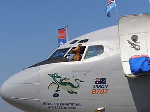No. 33 Squadron RAAF - No. 33 Squadron Boeing 707 at RIAT, 2006