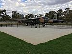 RAAF (A8-142) General Dynamics F111C gate guardian at RAAF Base Wagga (11).jpg
