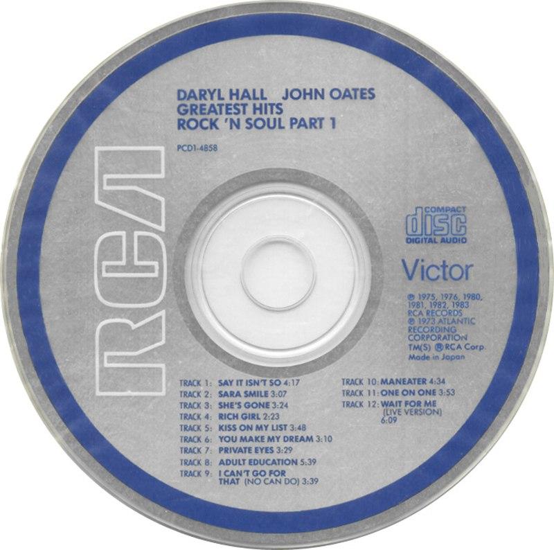 RCA Victor CD label, 1983