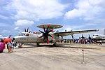 ROCAF Grumman E-2T 2503 Display at Gangshan AFB Apron 20170812La.jpg