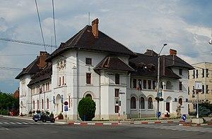 Târgu Jiu - Image: RO GJ Tg Jiu city hall