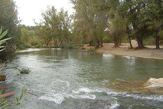 Turia (river) - View of Turia River near Benaguasil