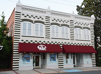National Register of Historic Places listings in Bacon County, Georgia - Image: Rabinowitz Building, Alma, GA, USA