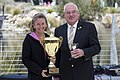 Rachel Stanton (First place) and the Mayor for the City of Wagga Wagga, Kerry Pascoe.jpg