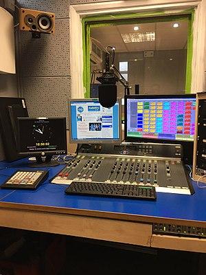 Studio 1 at Radio Wey