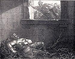 Ragnar Lodbroks död by Hugo Hamilton.jpg