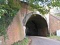 Railway bridge in Crown Lane near Nately Scures - geograph.org.uk - 70576.jpg