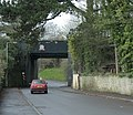 Railway bridge over Welshmill Lane, Frome - geograph.org.uk - 1610770.jpg