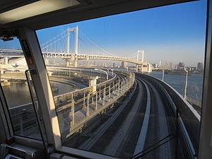 Yurikamome - View from the Yurikamome
