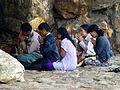 Rajgir - 024 Chanting at Sattapanni Cave (9242300677).jpg