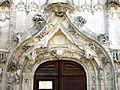 Raray (60), église Saint-Nicolas, portail occidental, archivolte.JPG