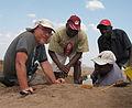 Rasmussen in Turkana Basin, Kenya with fellow paleontologists.jpg