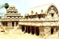 The Rathas in Mahabalipuram