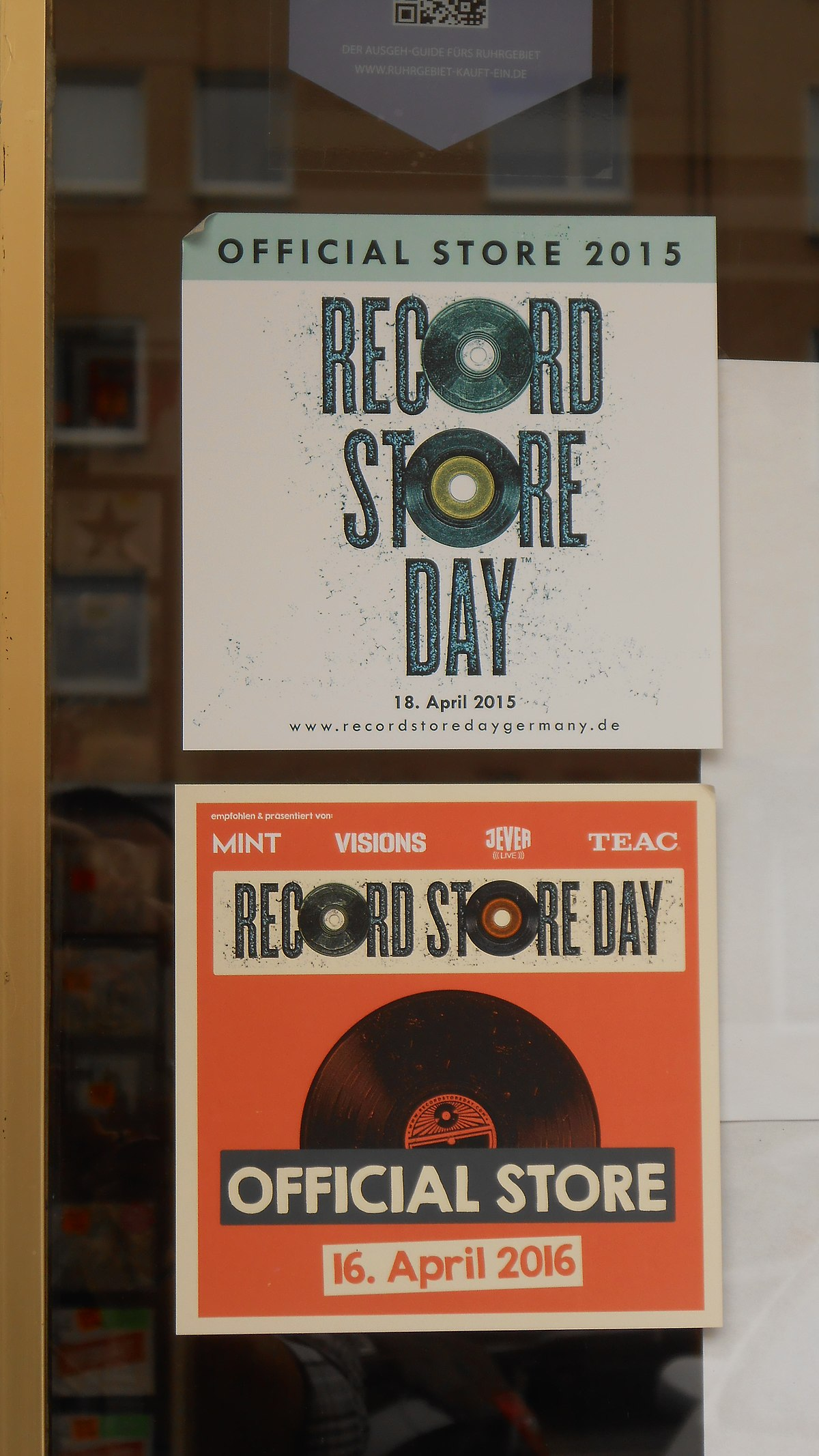 Record store day freebies