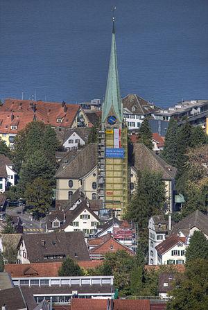 Wädenswil - Image: Ref. Kirche Wädenswil