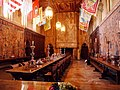 Refectory with whole table and Fireplace.jpg
