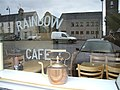 Reflections from the Rainbow Cafe, Aughnacloy - geograph.org.uk - 598430.jpg