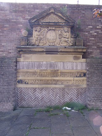 Walton, Liverpool - Remains of Town Hall