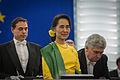 Remise du Prix Sakharov à Aung San Suu Kyi Strasbourg 22 octobre 2013-03.jpg