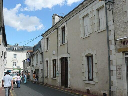 René BOYLESVES sa maison natale à DESCARTES - Jean-Charles GUILLO