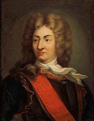 René Duguay-Trouin - Portrait of René Duguay-Trouin by Antoine Graincourt, 18th century, Musée de la Marine.