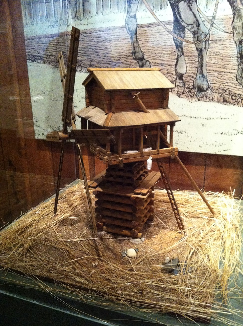 Replica of Windmill