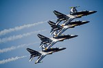 Republic of Korea Air Force Black Eagles fly in formation during Air Power Day 2016 on Osan Air Base, Republic of Korea, Sept. 25, 2016..jpg