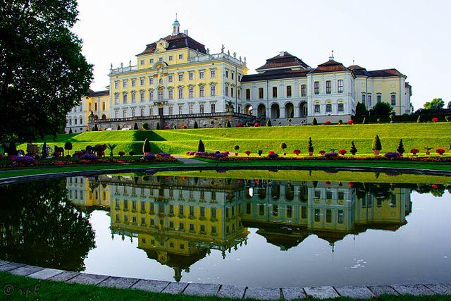 Schloss Ludwigsburg 1705