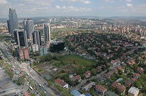 Istanbul skyline, Istanbul, Turkey.