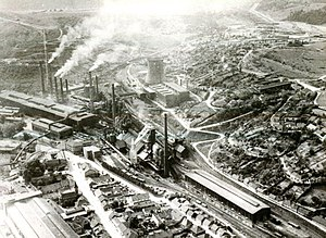 Reșița works - The steel works in 1970