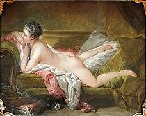 Resting Girl by François Boucher (1753) - Alte Pinakothek - Munich - Germany 2017 (crop).jpg