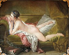Resting Girl by François Boucher (1753) - Alte Pinakothek - Munich - Germany 2017 (crop).jpg