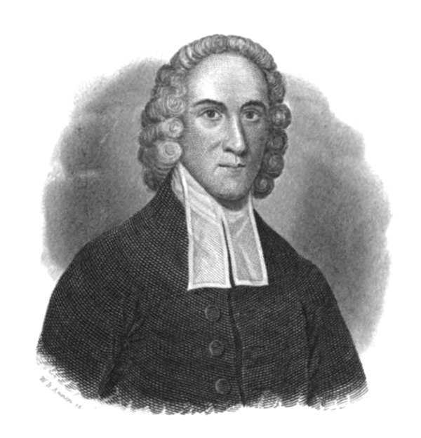 Rev. Dr. Jonathan Edwards (1837 engraving)